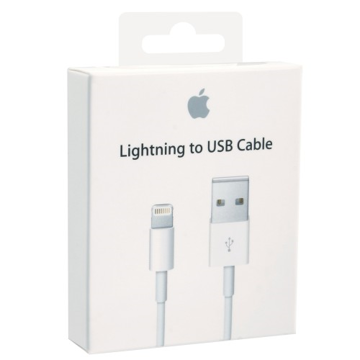 ORIGINAL DATA CABLE LIGHTNING TO USB 2.0 ΛΕΥΚΟ 1m BLISTER