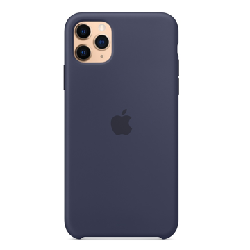 APPLE iPhone 11 Pro - ORIGINAL ΘΗΚΗ ΣΙΛΙΚΟΝΗΣ MIDNIGHT BLUE, BLISTER