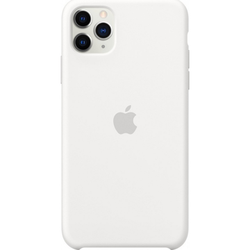 APPLE iPhone 11 Pro Max - ORIGINAL ΘΗΚΗ ΣΙΛΙΚΟΝΗΣ WHITE, BLISTER