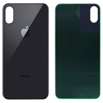 APPLE iPhone XS - Battery cover Black High Quality