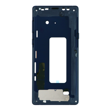 SAMSUNG Note 9 - Middle cover Frame Blue Original