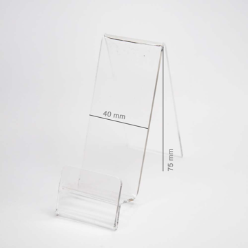 Mobile Holder 4cm x 7.5cm with Place for Price