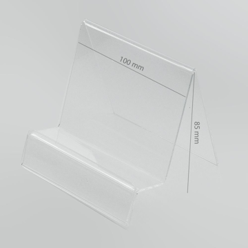 Mobile / Tablet Holder 10cm x 8,5cm with Place for Price