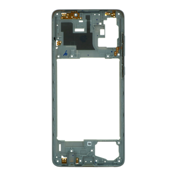 SAMSUNG Galaxy A71 - Middle cover Frame Silver Original