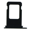 APPLE iPhone 11 - SIM Card Tray with waterproof rubber ring Black Original