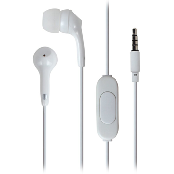 MOTOROLA - EARBUDS 2 STEREO WIRED EARPHONES HANDS FREE WHITE