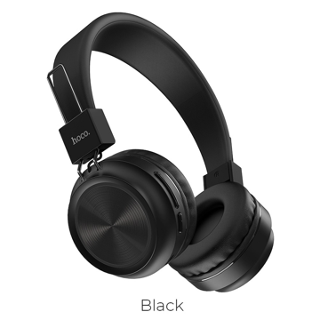HOCO - W25 Promise wireless headphones BLACK