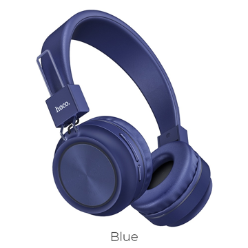 HOCO - W25 Promise wireless headphones BLUE