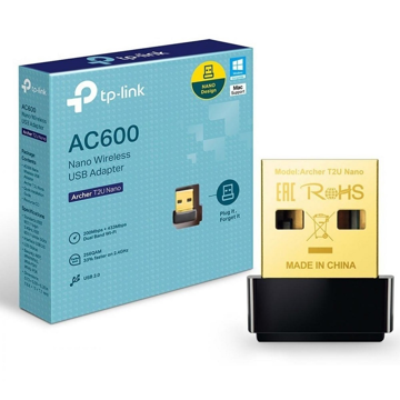 TP-LINK WiFi USB Adapter Archer T2U Nano AC600
