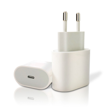 APPLE - ORIGINAL TRAVEL CHARGER 18W USB-C MU7V2ZM WHITE RETAIL PACKAGING