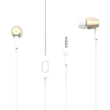 MOTOROLA - PACE 200 STEREO WIRED EARPHONES HANDS FREE GOLD