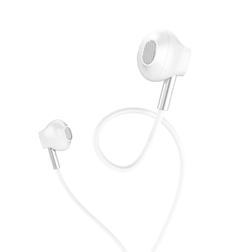 HOCO - M57 SKY SOUND STEREO WIRED EARPHONES HANDS FREE WHITE