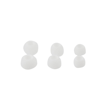 Rubbers for Earphones (3 Size in Set) white