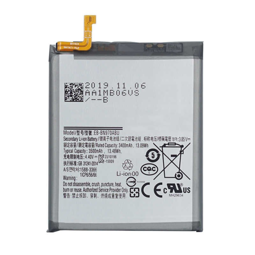 SAMSUNG N970 Galaxy Note 10 - ORIGINAL BATTERY EB-BN970ABU 3500 mAh LI-ION, Bulk