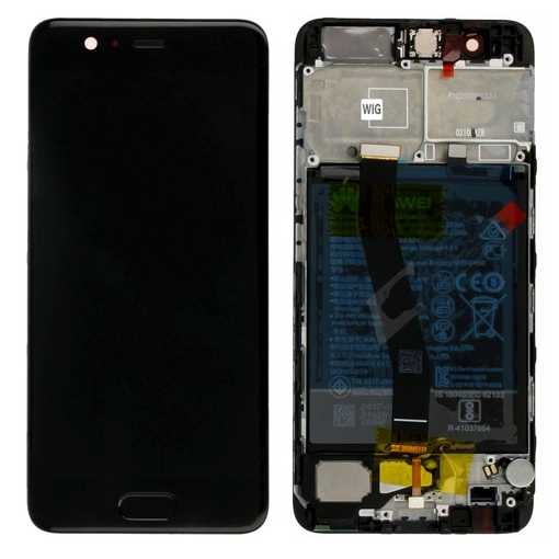 HUAWEI P10 - LCD + Touch Black Original Service Pack