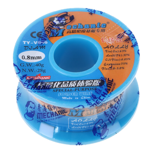 Series Special-Purpose Solder Wire Mechanic TY-V866 0.8mm