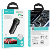 HOCO - Z38 RESOLUTE CAR CHARGER PD20W + QC3.0 FAST CHARGING 38W BLACK