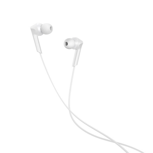 HOCO - M72 ADMIRE STEREO WIRED EARPHONES HANDS FREE WHITE