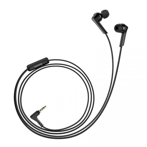 HOCO - M72 ADMIRE STEREO WIRED EARPHONES HANDS FREE BLACK