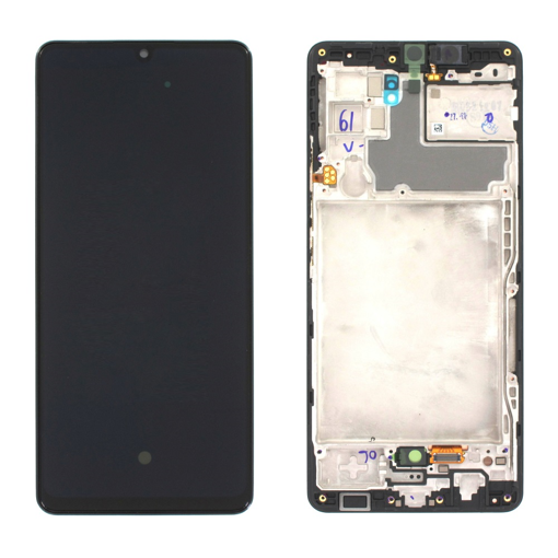 SAMSUNG A426 Galaxy A42 - LCD - Complete front + Touch Black Original