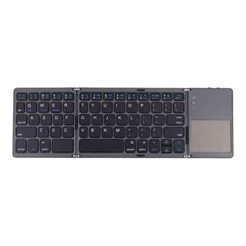 BT Wireless Keyboard with Touchpad Black