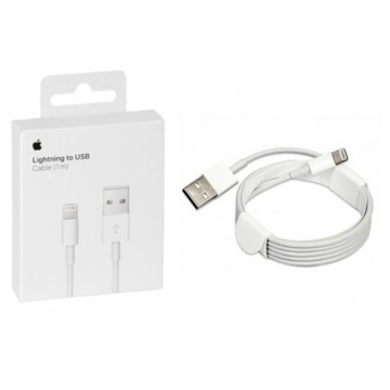 APPLE iPhone - ORIGINAL DATA CABLE USB to Lightning Cable White 1m, Blister
