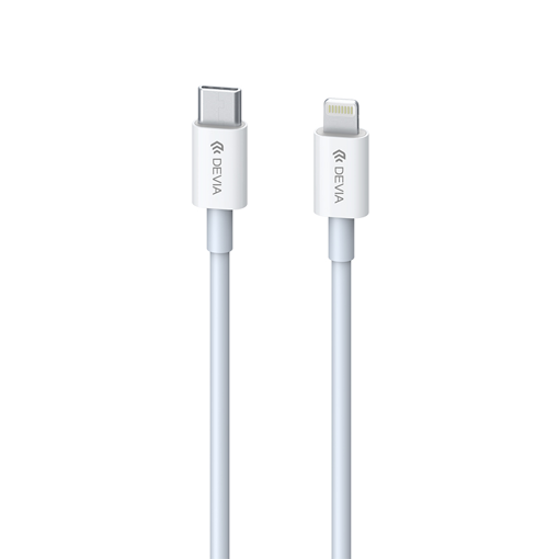 DEVIA Smart series PD cable for lightning White (PD 20W 3A)