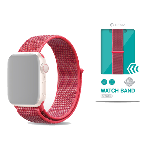 DEVIA Deluxe Series Sport3 Band (42/44mm) Hibiscus
