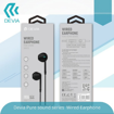 DEVIA Pure sound series Wired Earphone HANDS FREE White