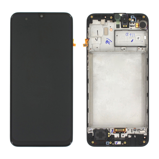 SAMSUNG M315F Galaxy M31 - LCD - Complete front LCD + Touch Black Original