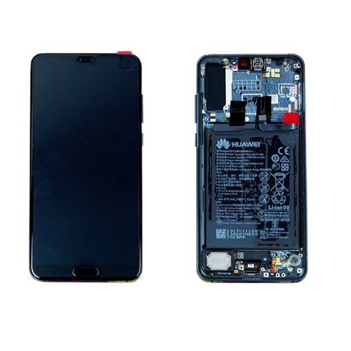 HUAWEI P20 Pro - LCD + Touch + Frame + Battery Blue Original Service Pack